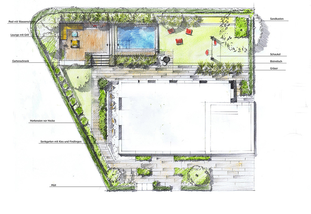 Unsere leistungen for Gartengestaltung planen